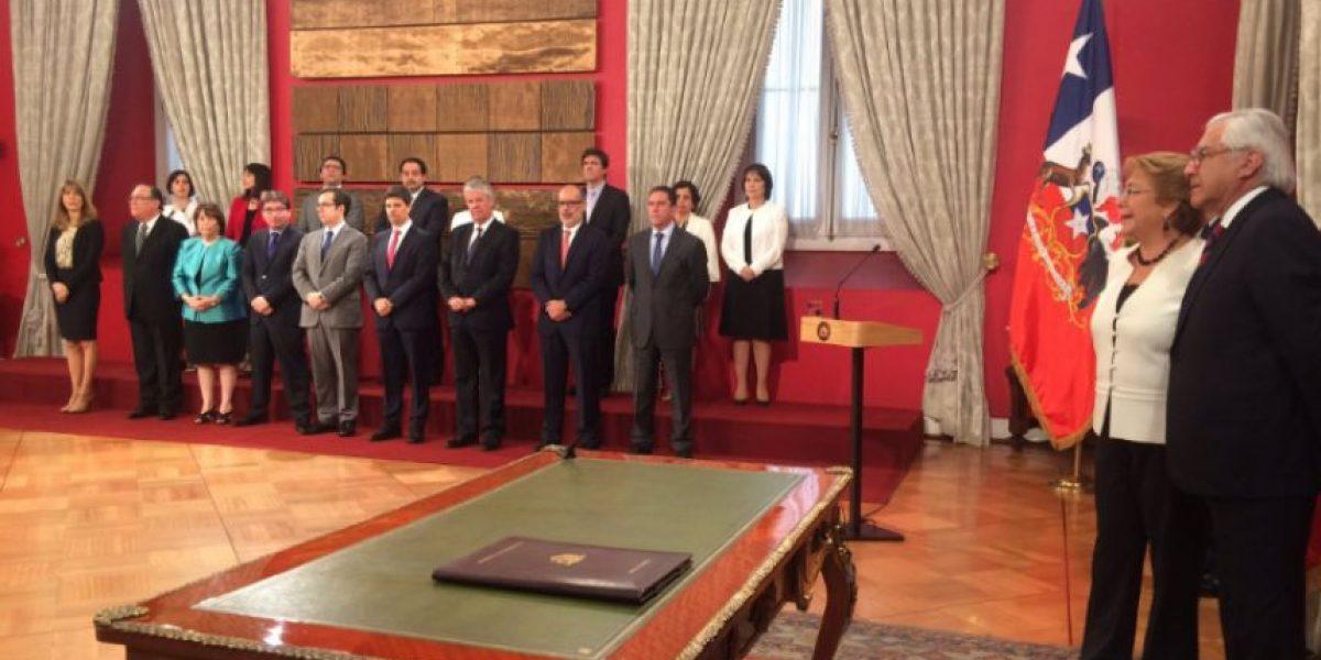 Bachelet realiza su sexto cambio de gabinete y anuncia la salida de tres ministros