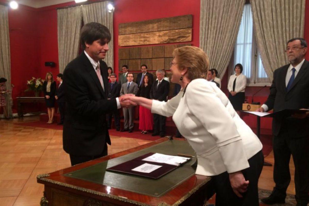 Pablo Squella Foto:Twitter @presidencia_cl. Imagen Por: