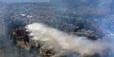 Balance Conaf: 45 incendios forestales siguen activos en el país