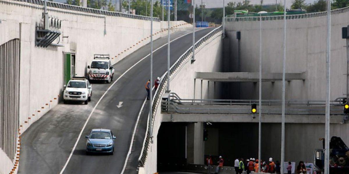 Inauguran dos nuevos túneles en Costanera Norte y Sur