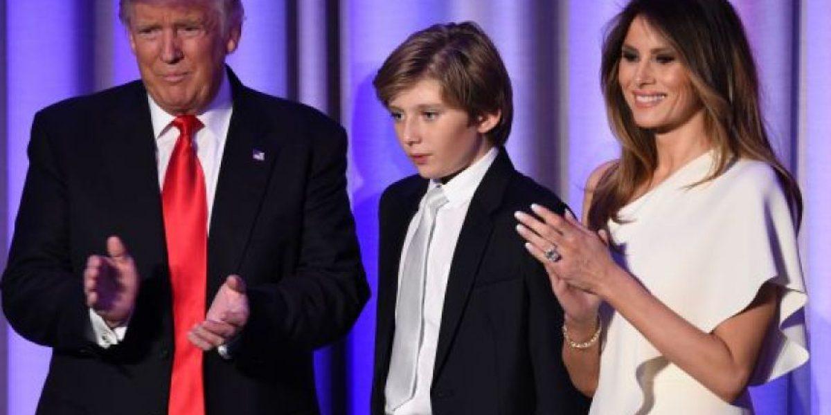 Melania Trump y su hijo Barron no se mudarían a la Casa Blanca