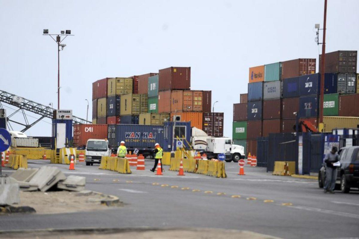 Esto traerá consecuencias para las exportaciones chilenas, principalmente la industria frutícola, cuya producción es altamente peresible. Foto:Agencia UNO. Imagen Por: