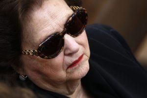 La viuda de Pinochet se encunetra internada con diagnóstico de carcater reservado. Foto:Aton. Imagen Por: