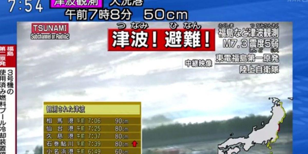 Japón: Terremoto 6,9 Richter levanta alerta de tsunami