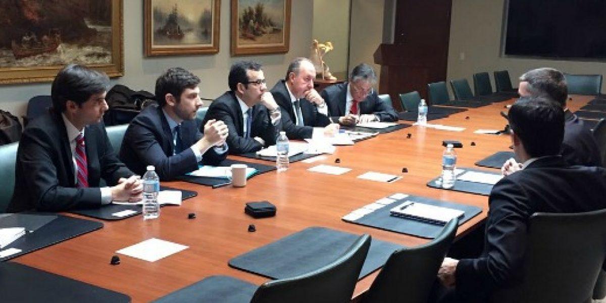 Ministro Céspedes se reúne con empresas canadienses que destacan a Chile como destino para invertir