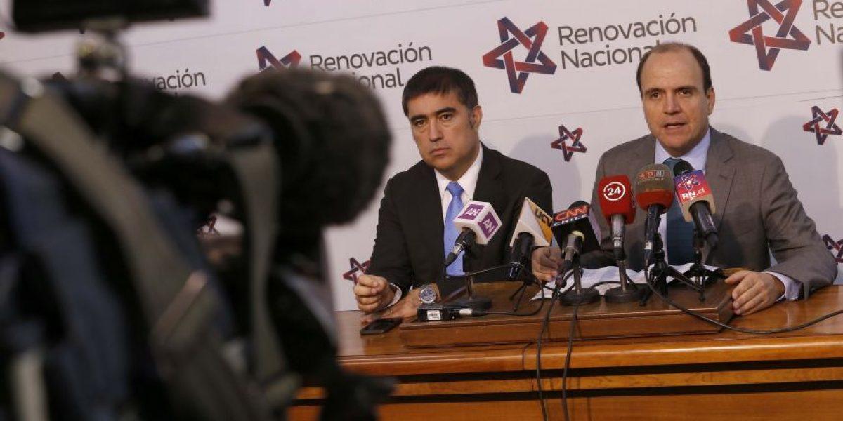 A dos semanas de la elección interna de Renovación Nacional candidato acusa irregularidades