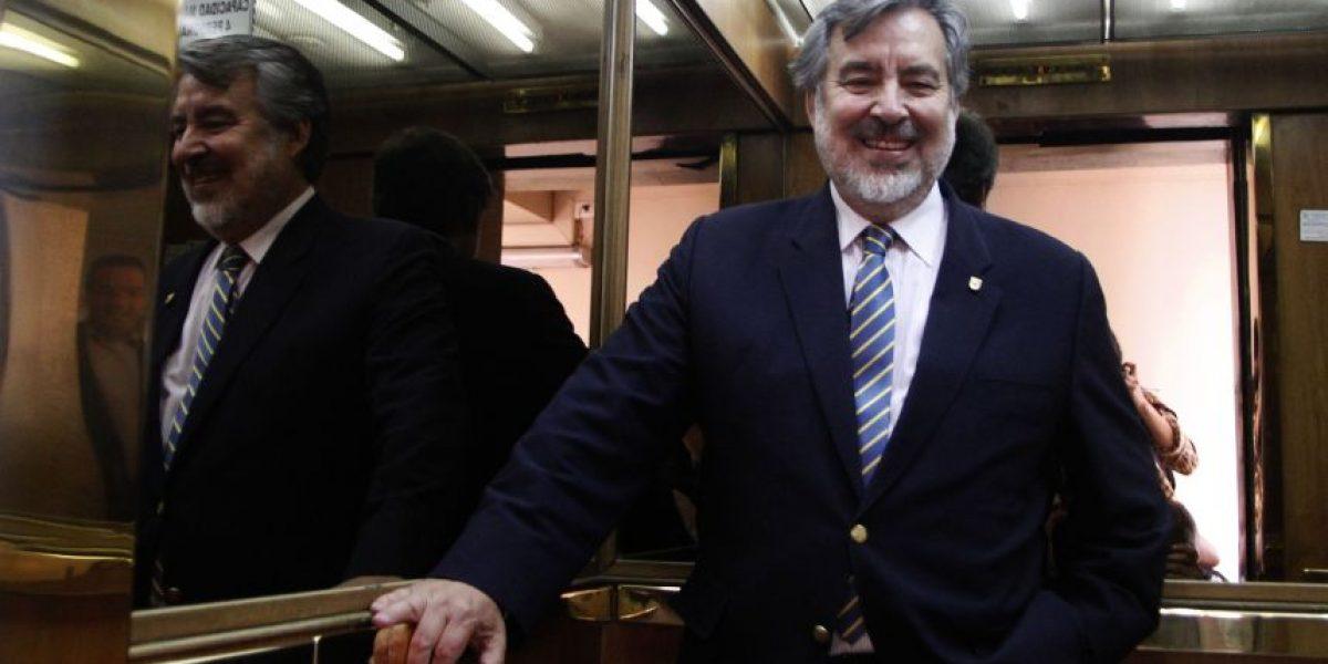 """Guillier cuestiona al Comité Político: """"Yo no sé si el ministro del Interior sufre de alzheimer o es así"""""""