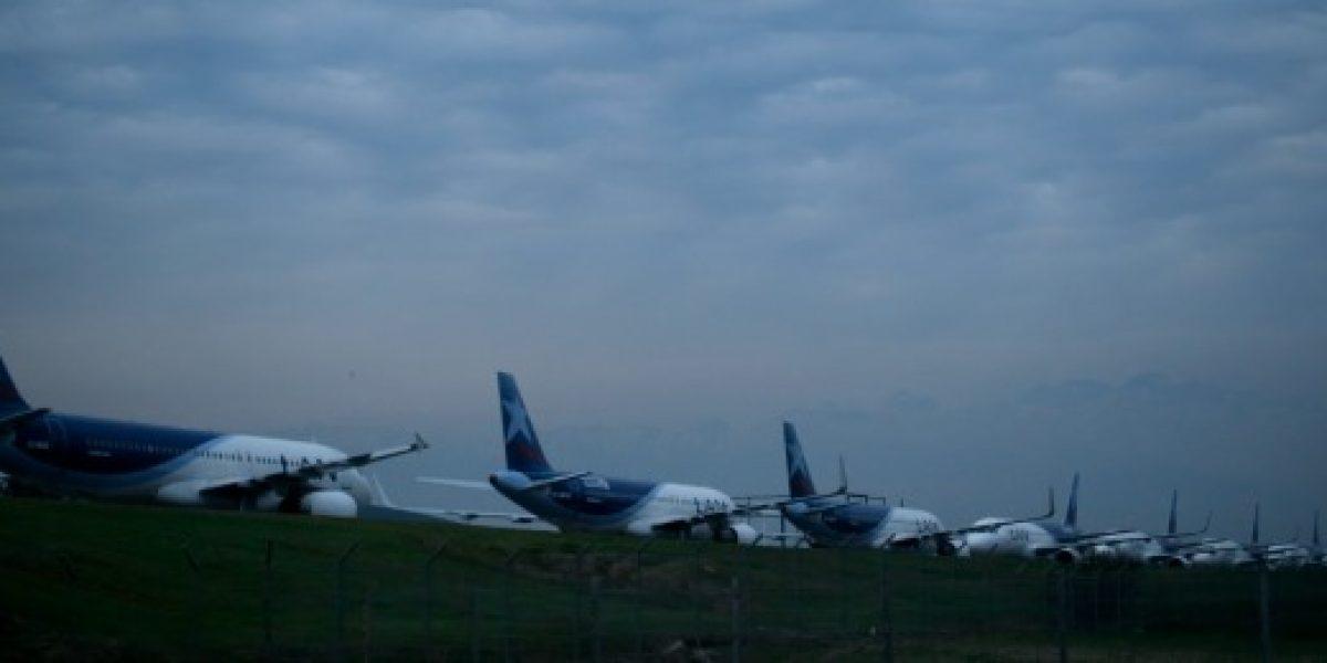 Aviones de aerolínea se toparon al ingresar a mantenimiento