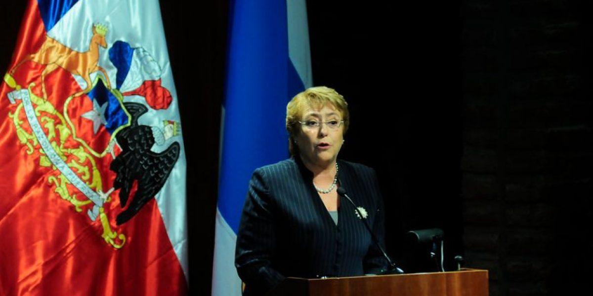 Bachelet por femicidios: