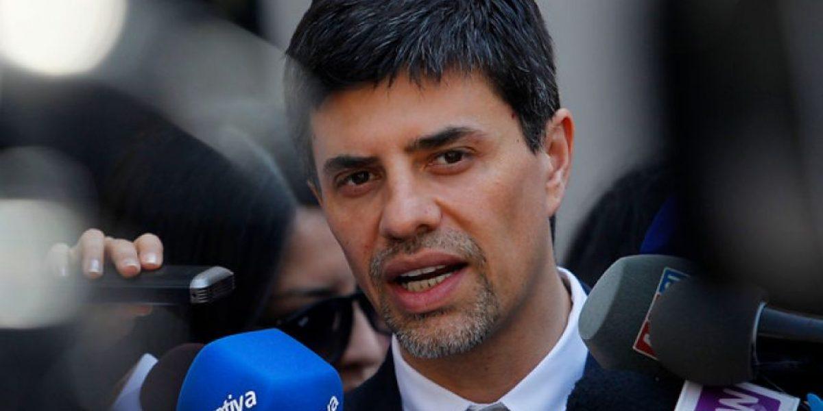 """Marcelo Díaz: """"Me gustaría ser presidente del Partido Socialista"""""""
