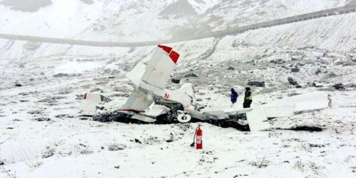 Un muerto deja caída de avioneta en el paso fronterizo Los Libertadores