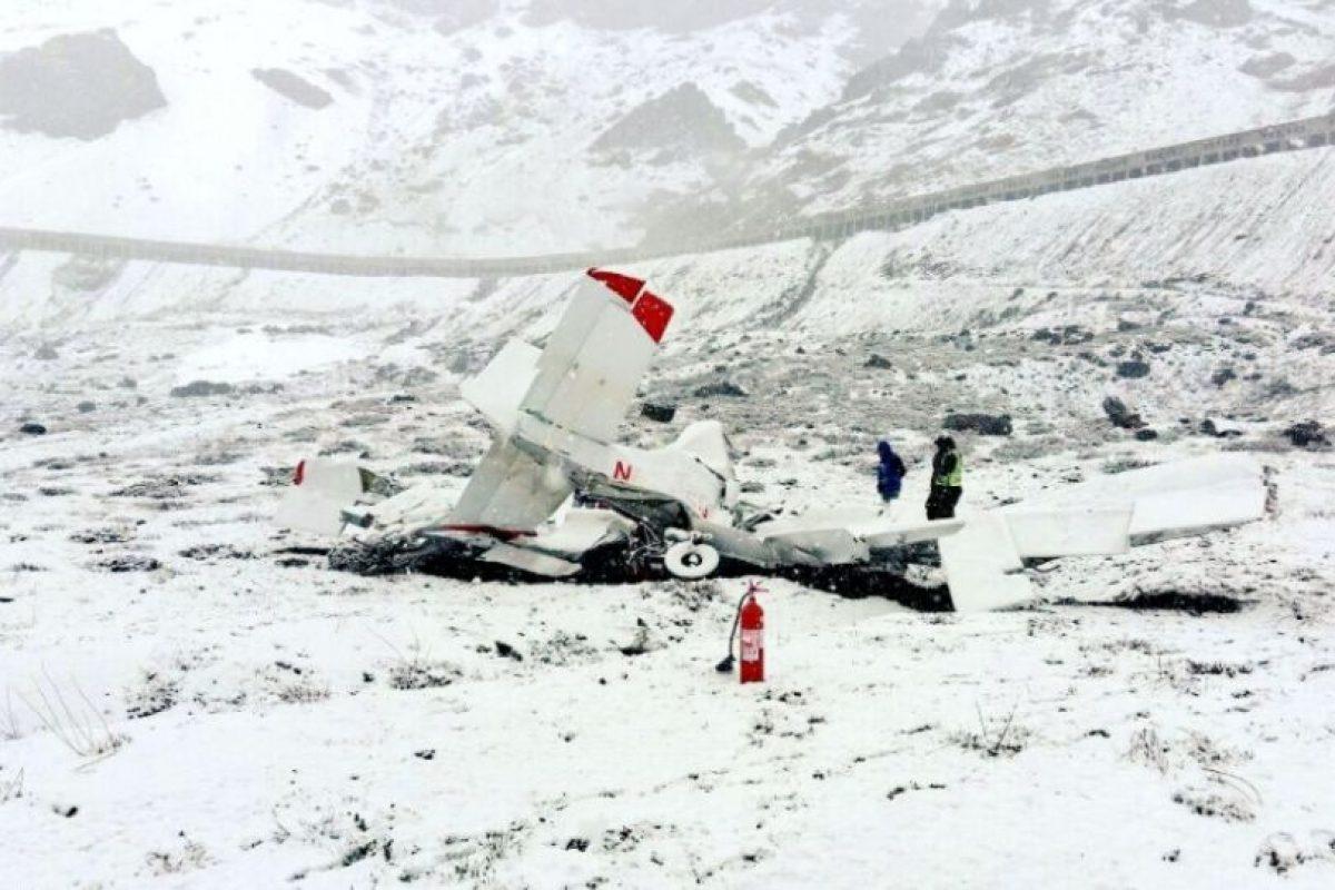 El flujo vehicular no se vio interrumpido por el incidente. Foto:Reproducción Twitter. Imagen Por: