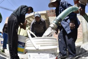 La situación de los sistemas de distribución es más crítica, por lo cual se decidió ampliar los cortes de agua Foto:AFP. Imagen Por: