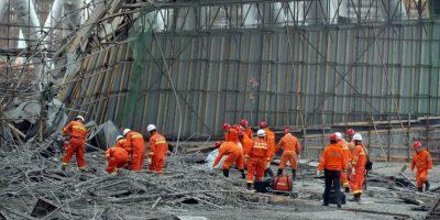 Al menos 67 muertos deja un derrumbe en una central eléctrica en China