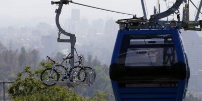 Después de siete años reinauguran Teleférico del Parque Metropolitano de Santiago