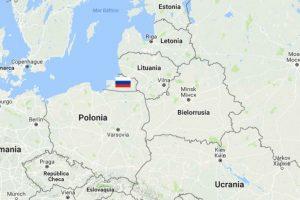 La Provincia de Kaliningrado está bajo control de Moscú desde 1945, pese a que está separa de Rusia. Foto:Google Maps.. Imagen Por: