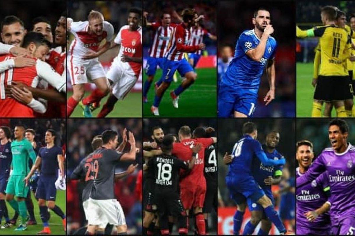Doce equipos ya tienen asegurado su cupo en los octavos de final de la Champions League Foto:Getty Images. Imagen Por: