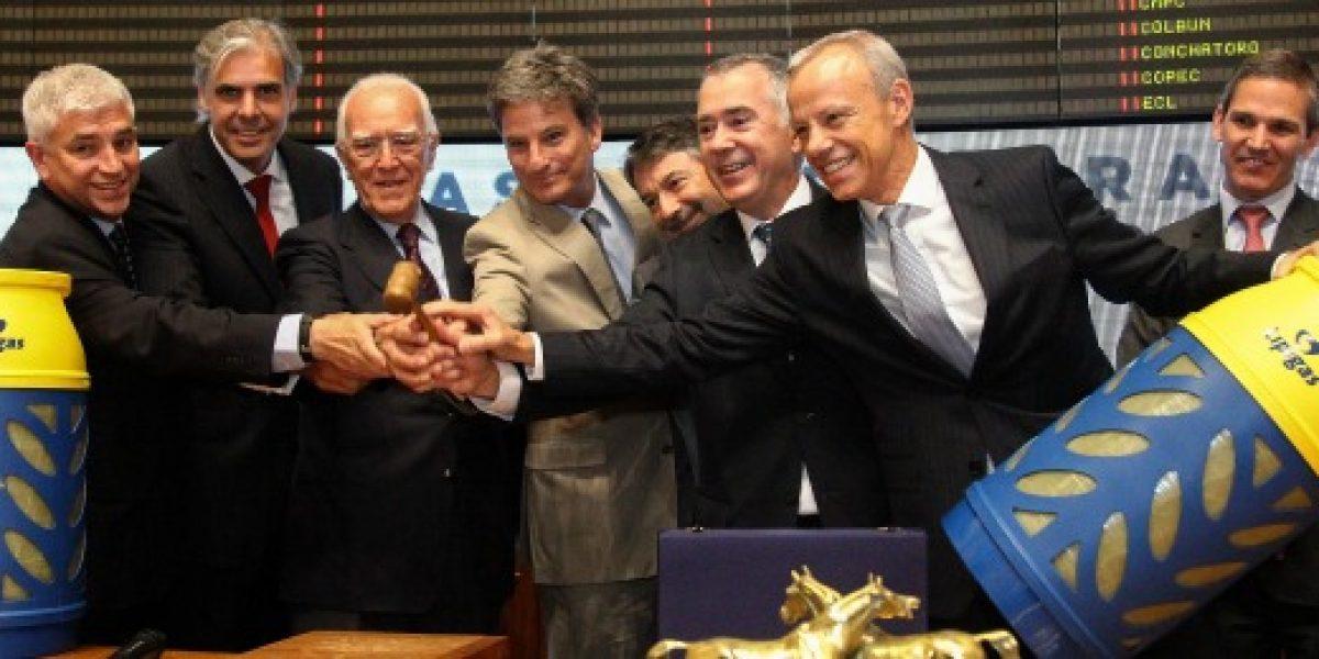 Lipigas recauda US$150 millones en su debut en la Bolsa