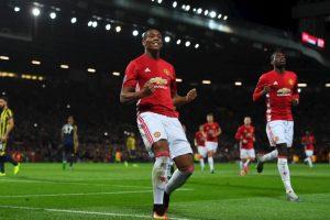 Antonhy Martial (mediocampista por izquierda) – Manchester United Foto:Getty Images. Imagen Por: