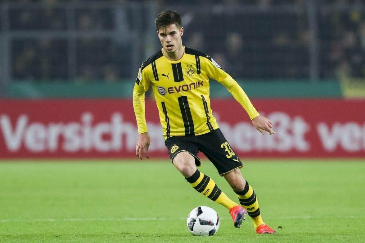 Julian Weigl (volante de contención) – Borussia Dortmund Foto:Getty Images. Imagen Por: