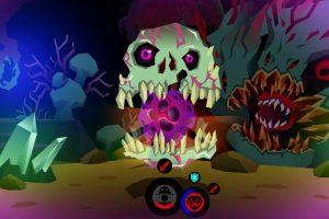 """""""Severed"""" de Drnkbox Studios presenta un arte bastante llamativo. Con una historia de terror que encanta y no da miedo, debido a sus fuertes colores. Foto:Captura. Imagen Por:"""