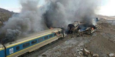Choque de trenes en Irán deja al menos 31 muertos y más de 70 heridos
