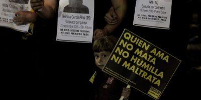 Cada 7 horas una mujer denuncia que es víctima de violencia intrafamiliar en Chile
