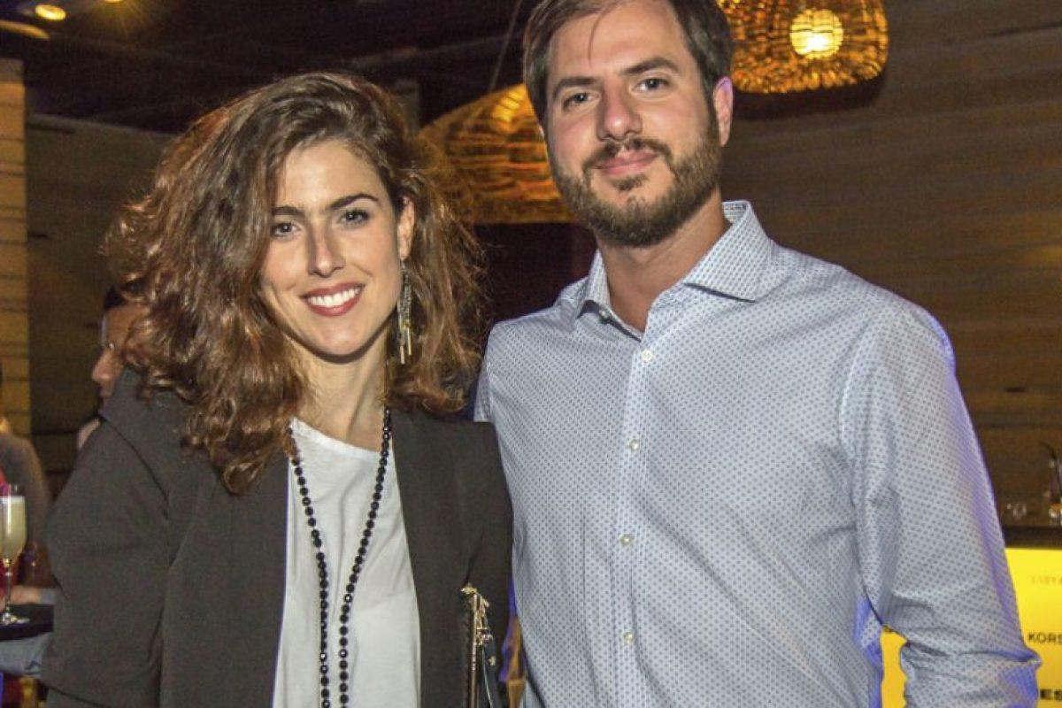 Catterina Siri y Ricardo Cox. Imagen Por: