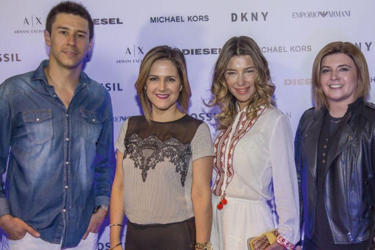 Germán Schiessler, Michelle Adam, Francisca Merino y Scarlet Cárdenas. Imagen Por: