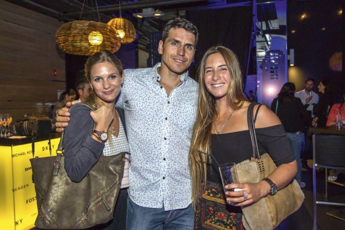 Mayte Rodríguez, Pangal Andrade y Trinidad Segura. Imagen Por: