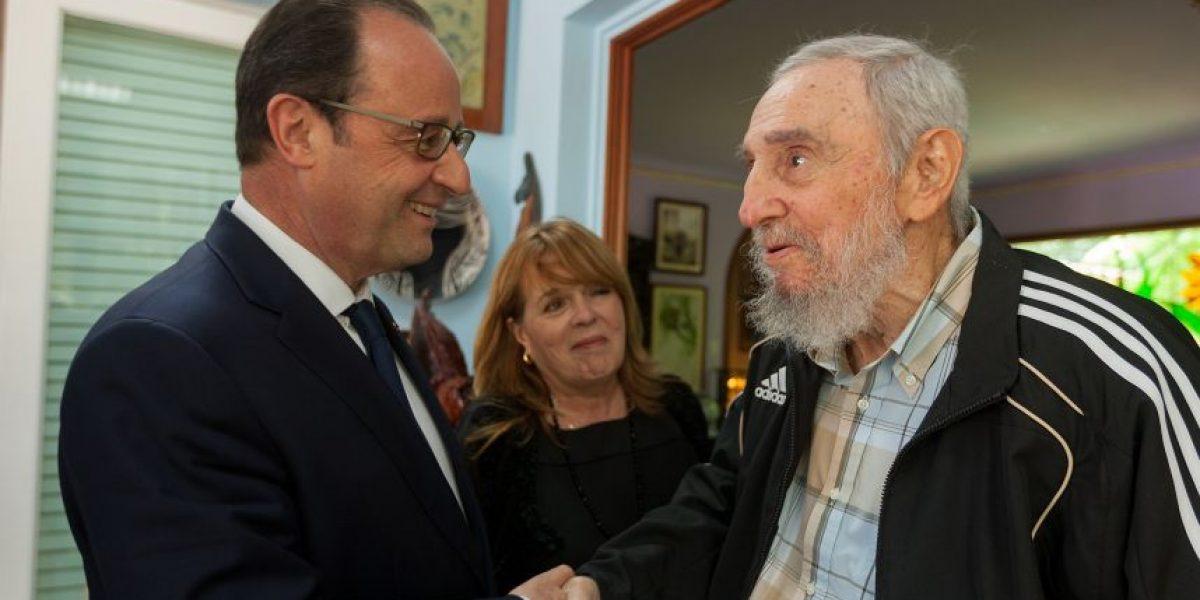 Hollande: el embargo contra Cuba debe