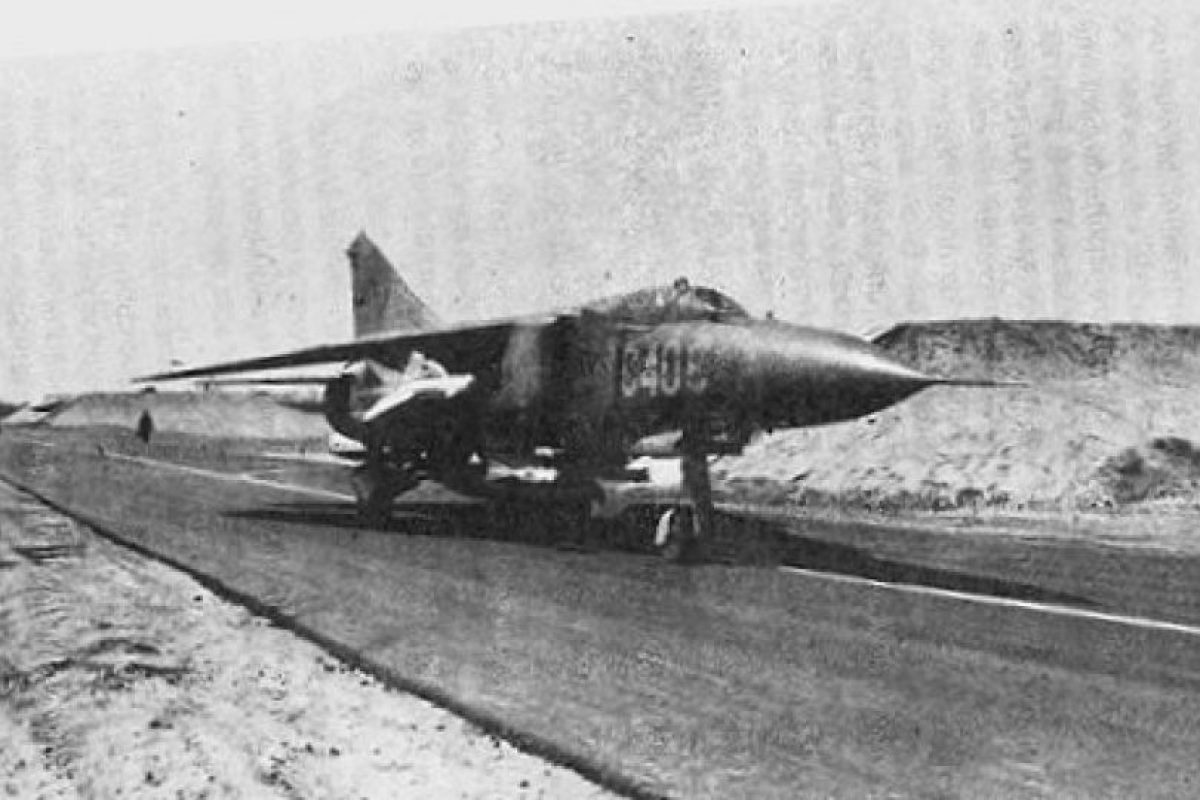 Un caza cubano MiG-23: estos aviones lograron victorias contra aviones sudafricanos durante el conflicto en Angola. Foto:Archivo. Imagen Por: