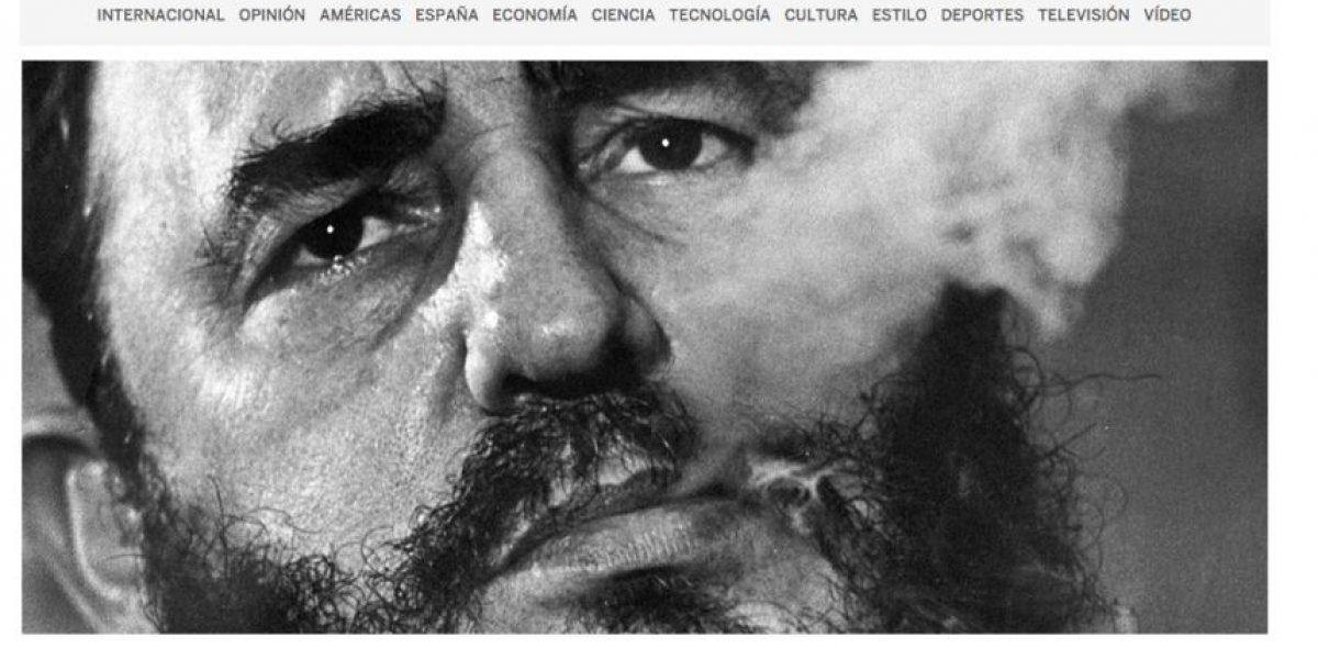 Los medios del mundo informan la muerte de Fidel Castro