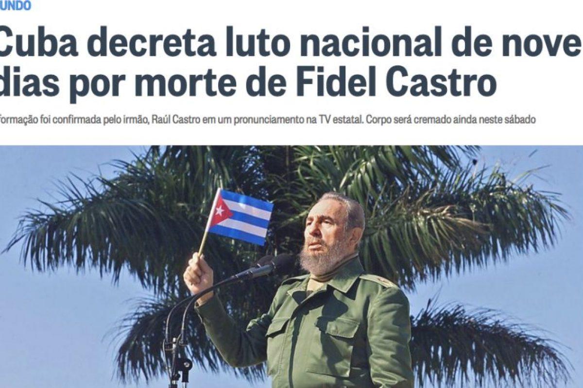 O Globo, Brasil. Imagen Por: