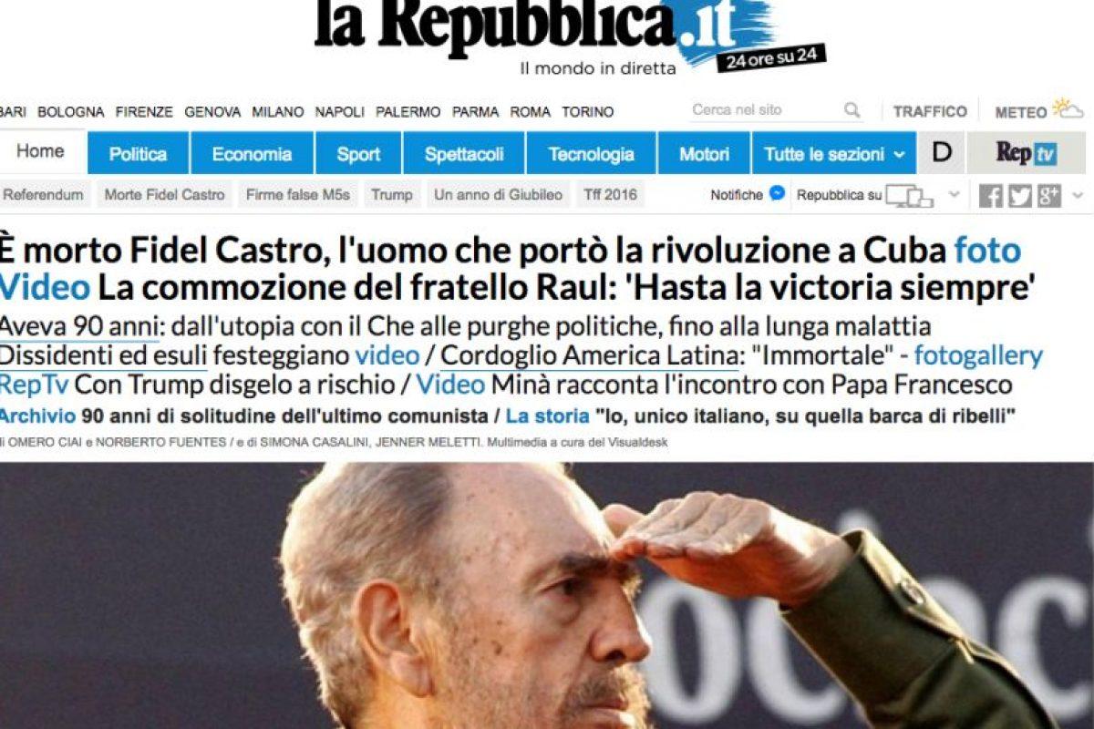 La Republica, Italia. Imagen Por: