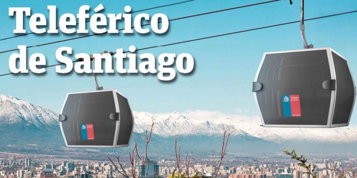 Infografía: teleférico de Santiago