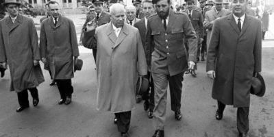 El día en que Fidel Castro no quiso besar en la boca a Leonidas Brezhnev