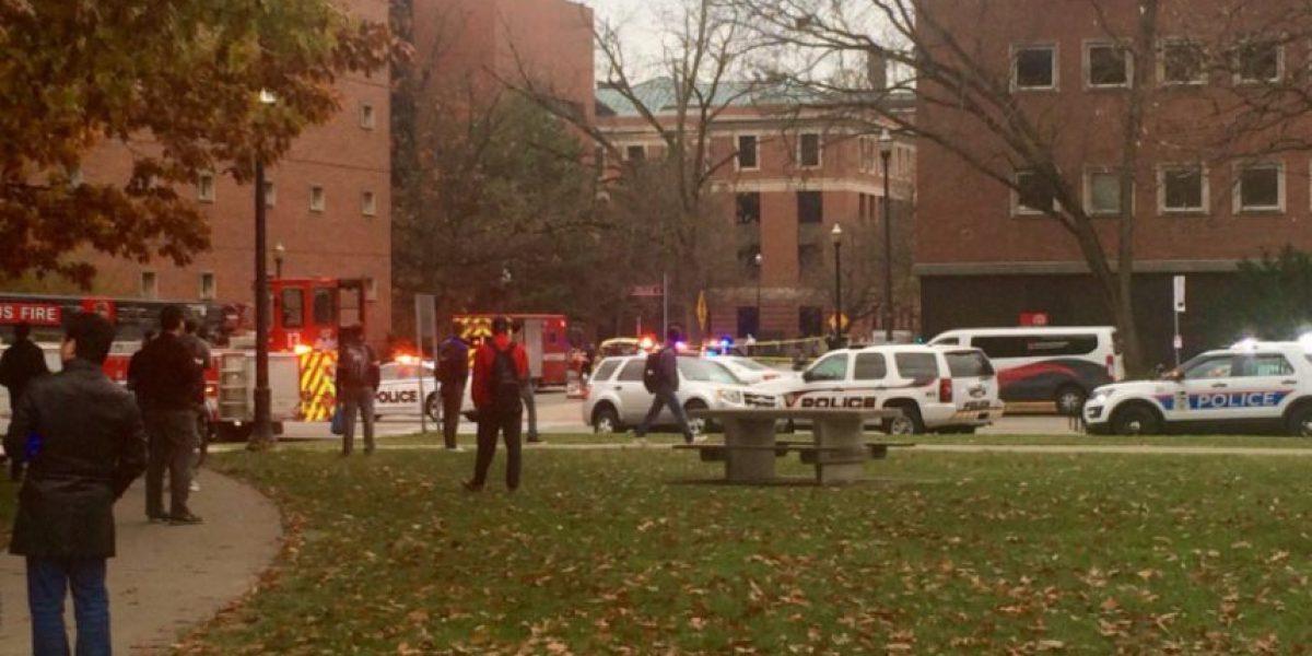 Abaten a atacante que dejó 9 heridos en universidad de Ohio: sujeto acuchilló y arrolló a estudiantes