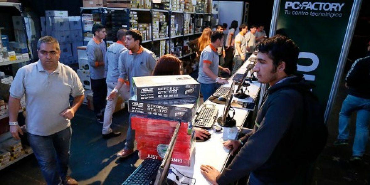 Tienda de artículos electrónicos realiza nueva venta de bodega