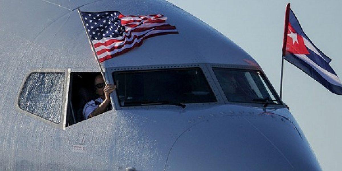 El primer vuelo de EEUU a La Habana llega en medio de los funerales de Castro