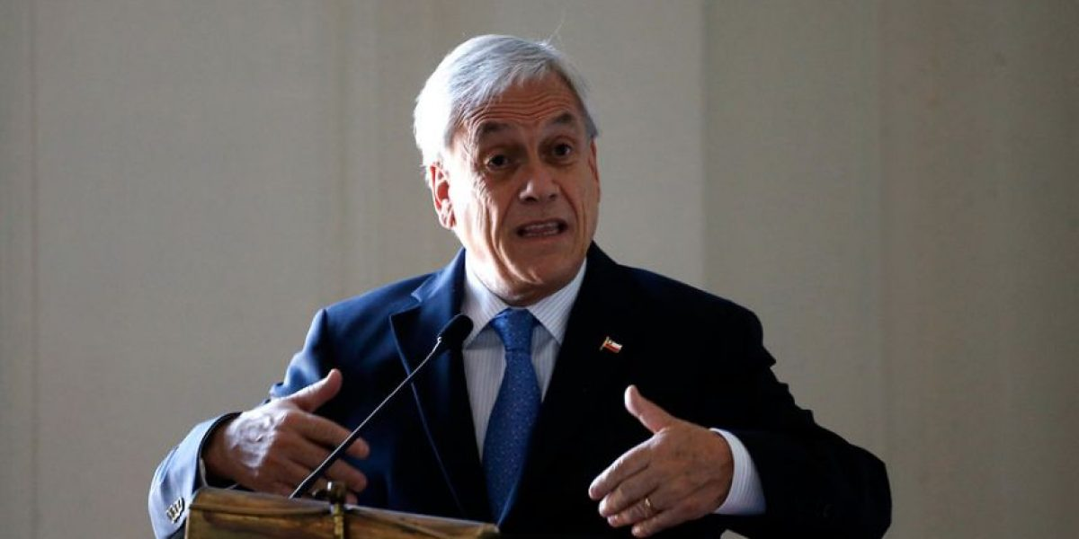 Piñera agradece respaldo de Kuczynski por Exalmar: