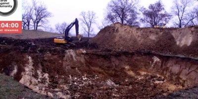 Así es el agujero gigante que excavaron en Estados Unidos sin ninguna razón
