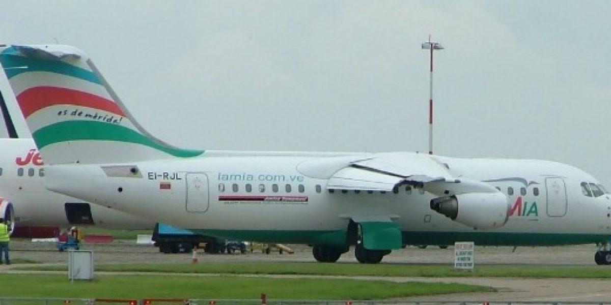 Lamia: la aerolínea del accidente del Chapecoense