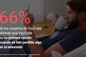 Pero un 66% de los usuarios ve Youtube cuando se perdieron de algún contenido en la Tv. Foto:Gentileza Impronta. Imagen Por: