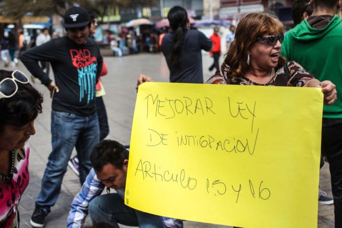 Políticos de distintos sectores han opinado respecto a las leyes de inmigración que rigen en nuestro país. Foto:Agencia UNO. Imagen Por: