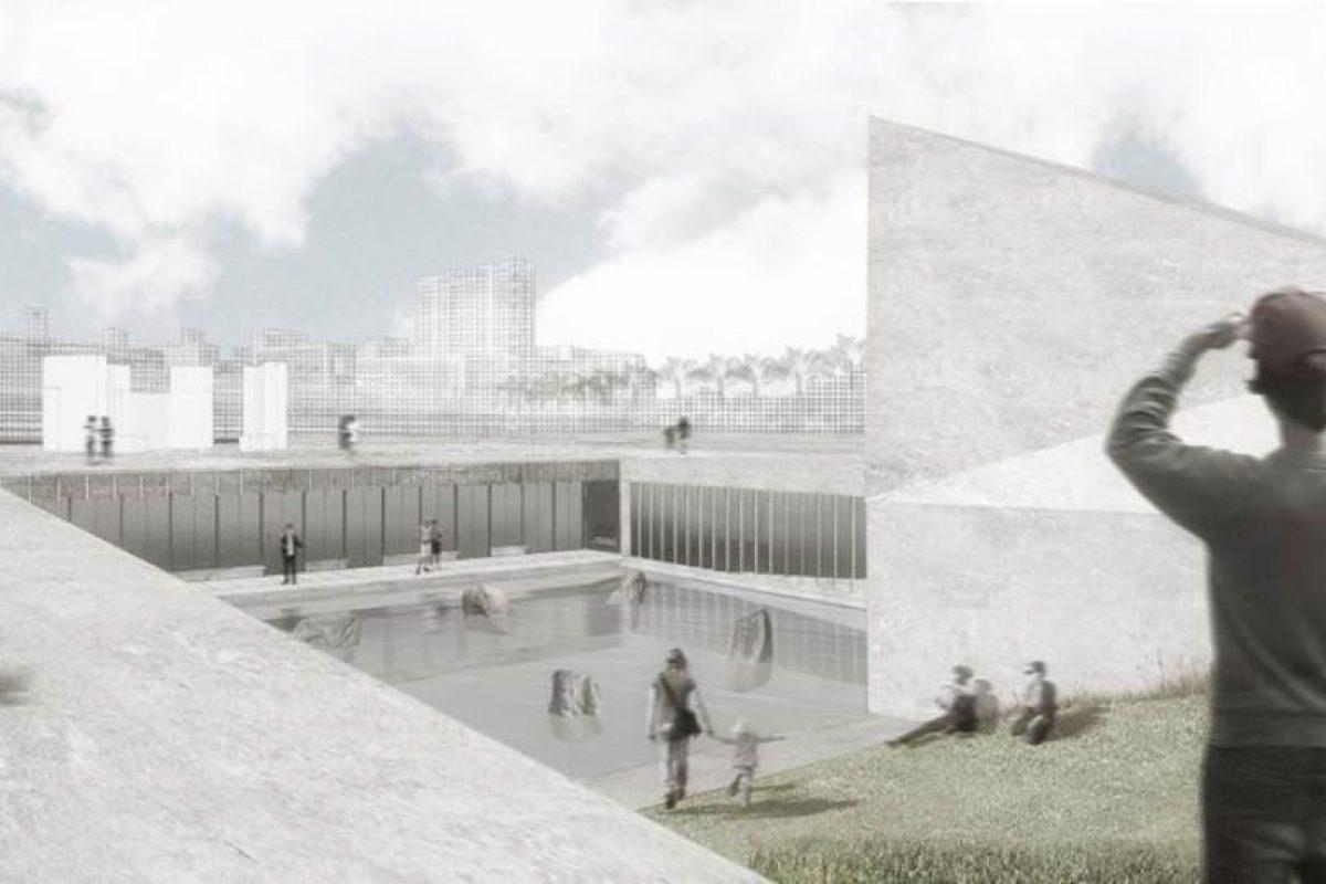 """Así se vería el nuevo """"Museo de la memoria"""" que se construirá en Concepción. Foto:Gobierno Regional de Bio Bio. Imagen Por:"""