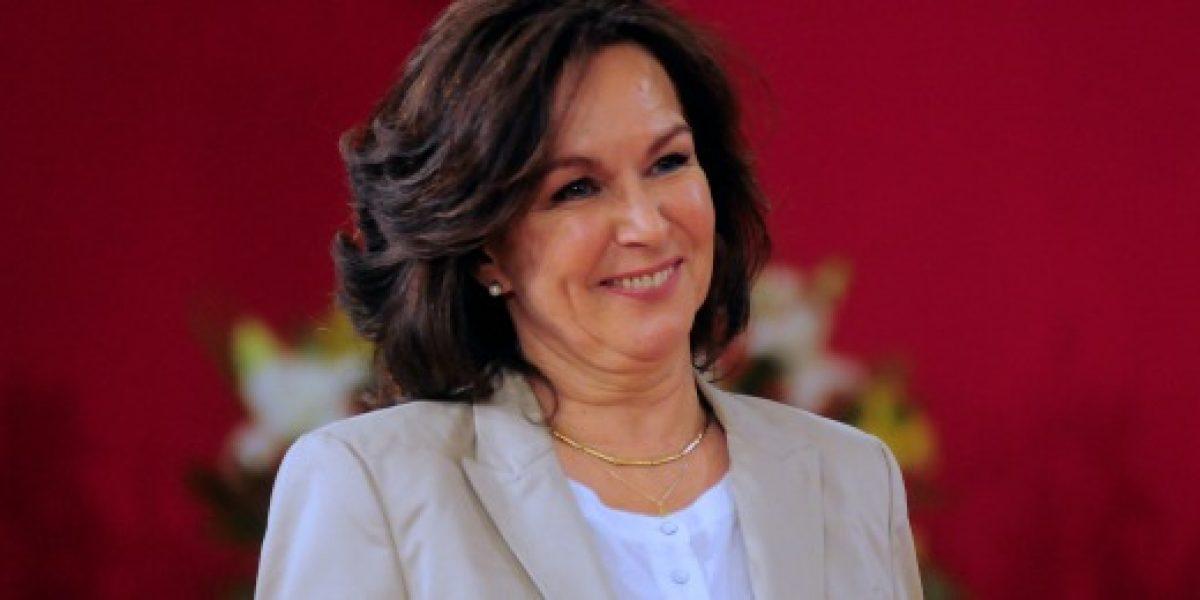 "Ministra Krauss: ""Las cifras nos dan confianza"""