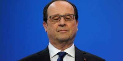 Presidente francés François Hollande renuncia a la reelección