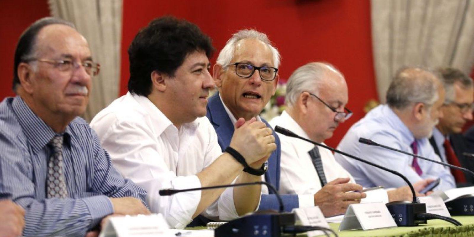 """""""Lo que vamos a hacer hoy día es iniciar el proceso de priorización. Sabemos que son más de 150 proyectos que componen la agenda legislativa y tenemos que llegar a un número más reducido por las semanas concretas de tramitación legislativa que quedan de aquí al fin del Gobierno"""", dijo la minimstra vocera de Gobierno, Paula Narváez, por el encuentro. Foto:Aton. Imagen Por:"""