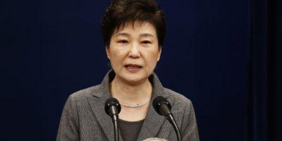 La presidenta surcoreana, Park Geun-hye, anunció el martes su disposición a renunciar. Foto:AFP. Imagen Por: